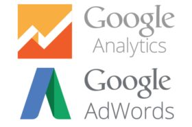 Google AdWords and Analytics logos