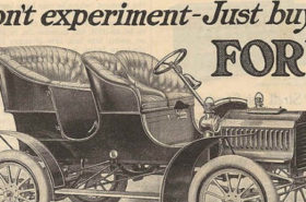 Henry Ford Vintage Ad