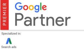 Google Premier Partner badge Fish Marketing