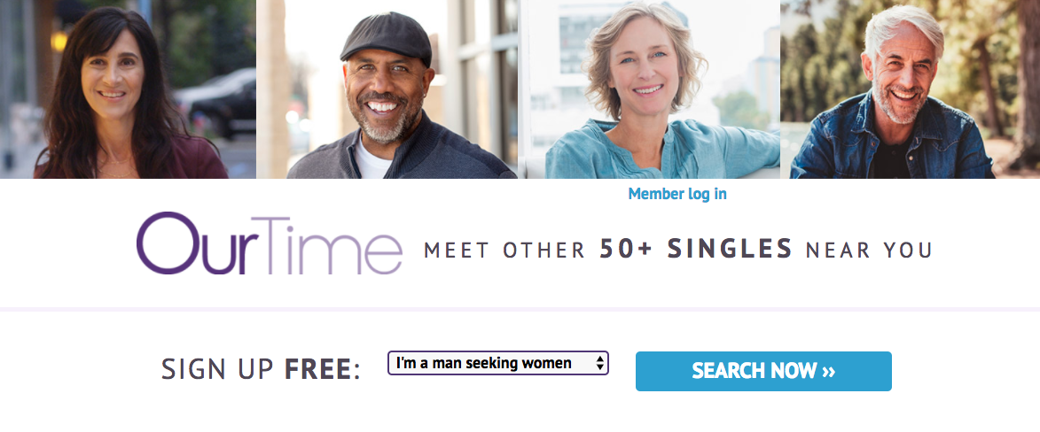 """Our Time"" Ad: Meet Other 50+ Singles Near You"