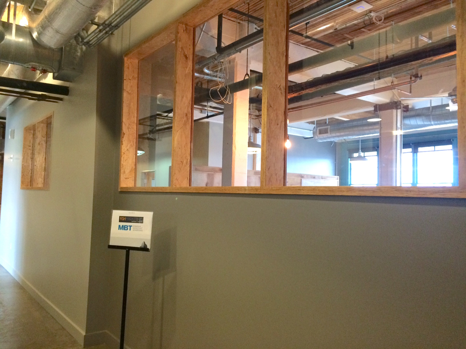After Fish Marketing Office Remodel