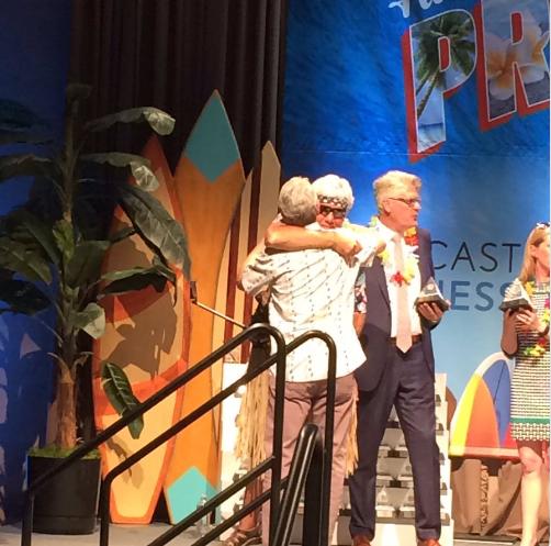 Doug Fish Accepting PBJ Award 2016