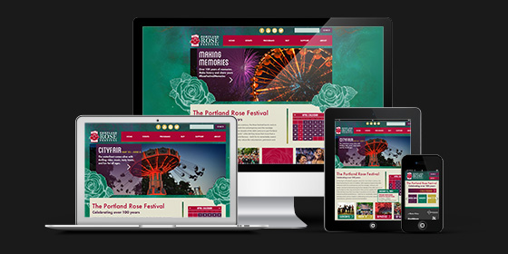 Showcase of Portland, Oregon Responsive Web Design
